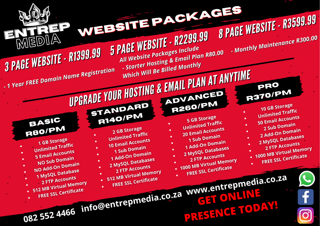 Website packages (1)